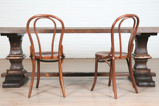 etúHOME No. 18 Dining Chair, Saddle 1