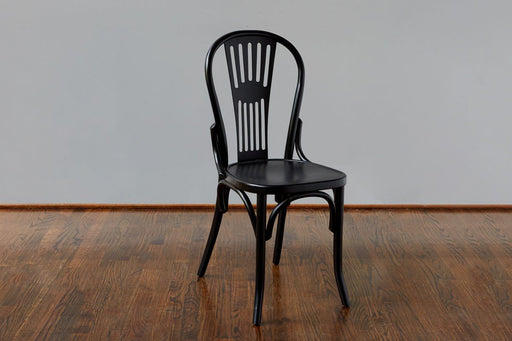 etúHOME Classic Windsor Chair, Black 1
