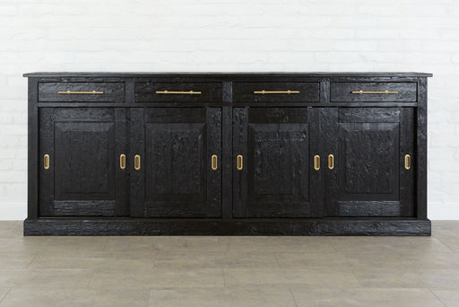 etúHOME Parisian Sideboard, Wood Doors, Black 1
