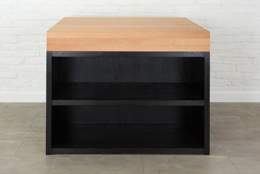 etúHOME Beech Butcher Block Kitchen Island 1
