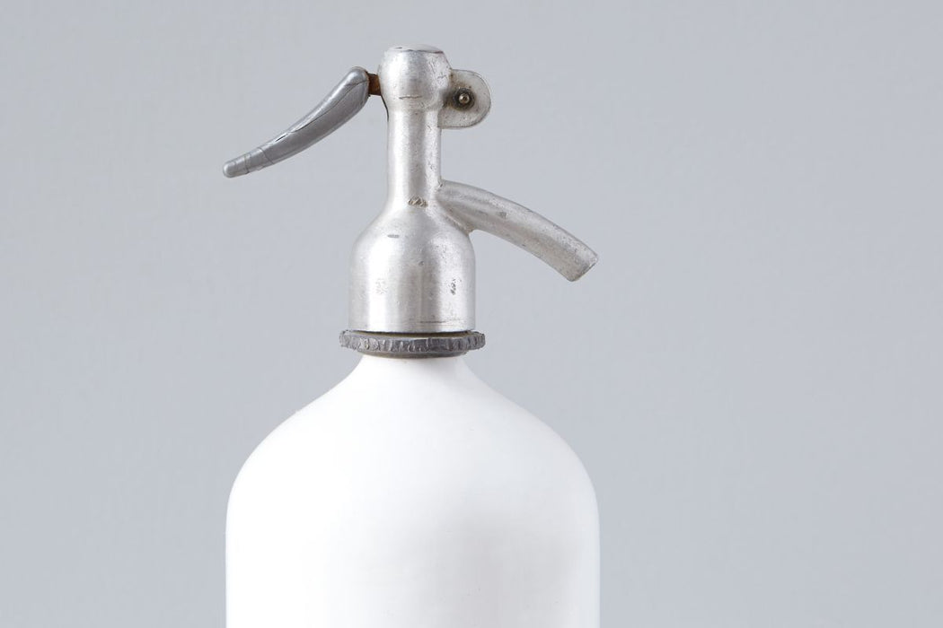 etúHOME White Seltzer Bottle 2