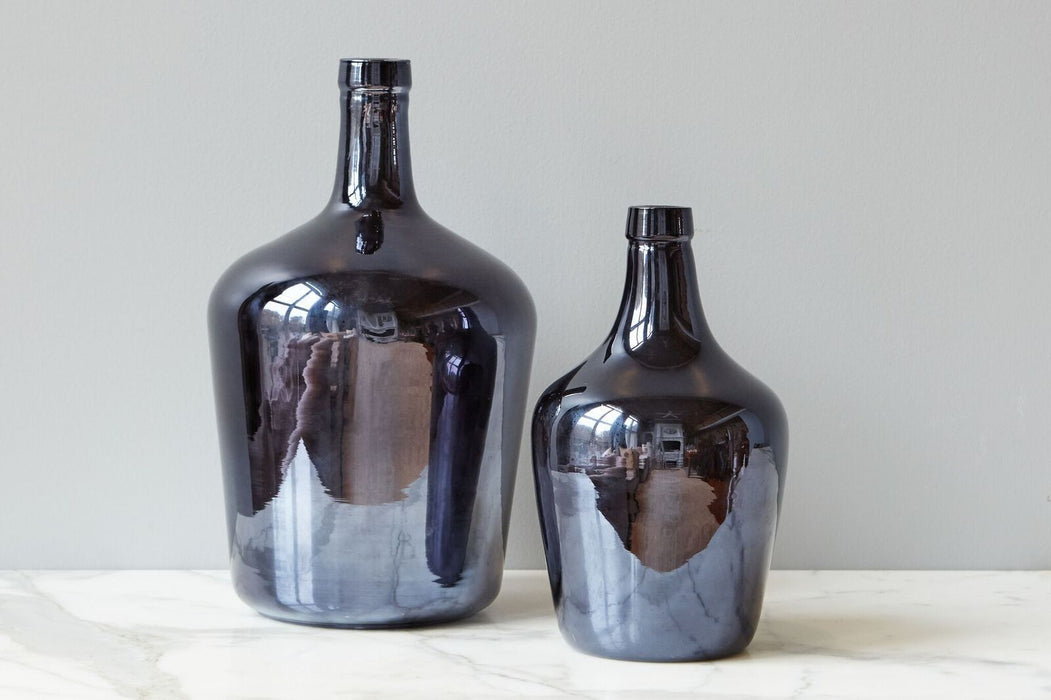 Midnight Navy Demijohn, Small