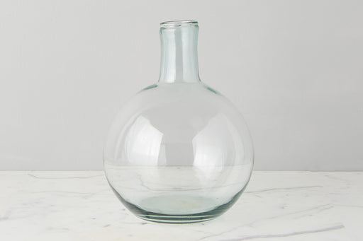 etúHOME Clear Round Bottom Flask Medium - 1