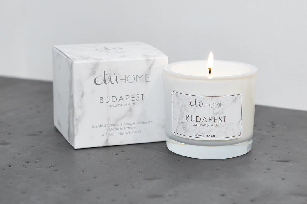 etúHOME Budapest Cucumber and Dill Candle -6