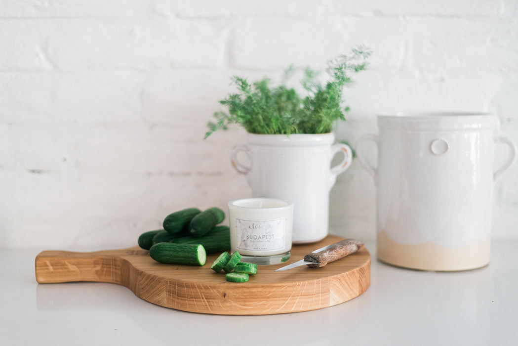 etúHOME Budapest Cucumber and Dill Candle -1