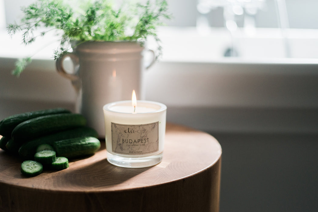 etúHOME Budapest Cucumber and Dill Candle -3