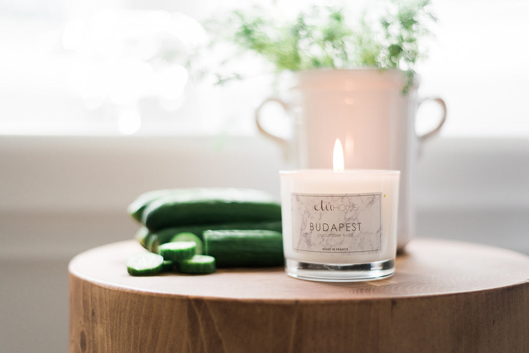 etúHOME Budapest Cucumber and Dill Candle -4