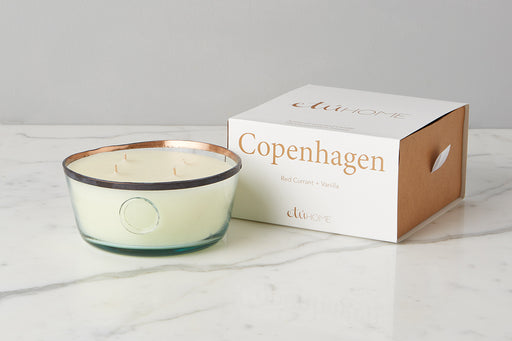 etúHOME Copenhagen Red Currant and Vanilla Candle, Large 1
