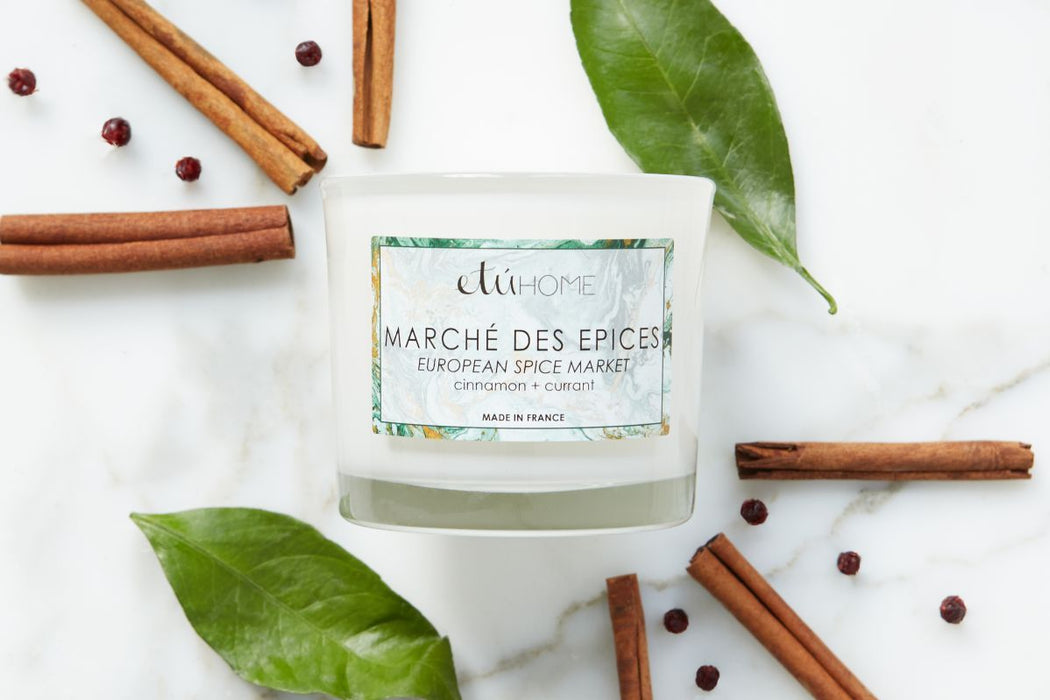 Spice Market Cinnamon and Currant Candle