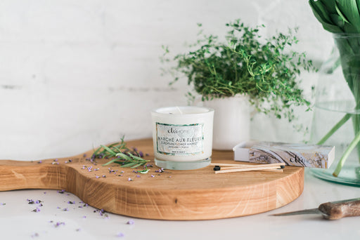 etúHOME Flower Market Lavender and Thyme Candle -1