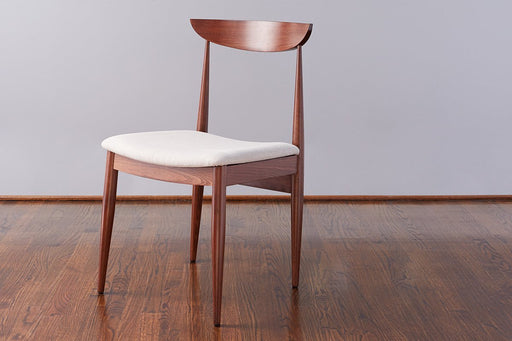 etúHOME Lille Dining Chair, Saddle with Linen 1