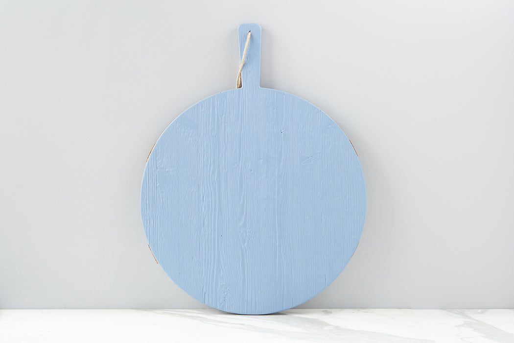 Caitlin Wilson x etúHOME French Blue Round Mod Charcuterie Board, Medium - 2