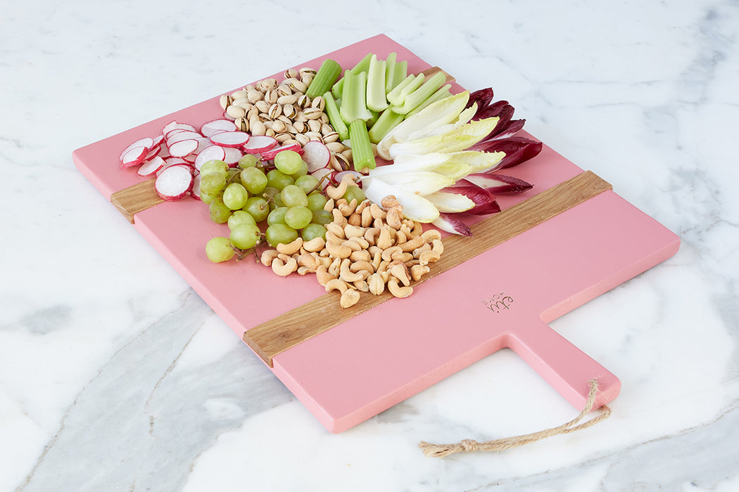 etúHOME Pink Rectangle Mod Charcuterie Board, Medium - 4
