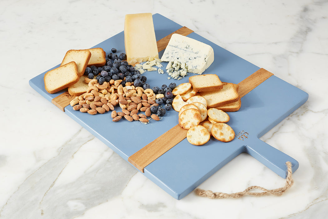 Denim Rectangle Mod Charcuterie Board, Medium - 4