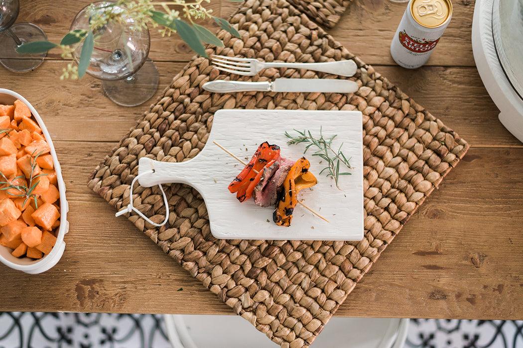 etúHOME White Mini Charcuterie Board - 11