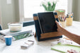 etúHOME Navy Mod iPad / Cookbook Holder - Featured in Oprah Magazine - 6