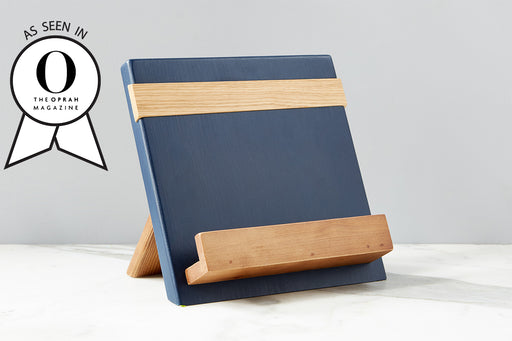 etúHOME Navy Mod iPad / Cookbook Holder - Featured in Oprah Magazine - 2