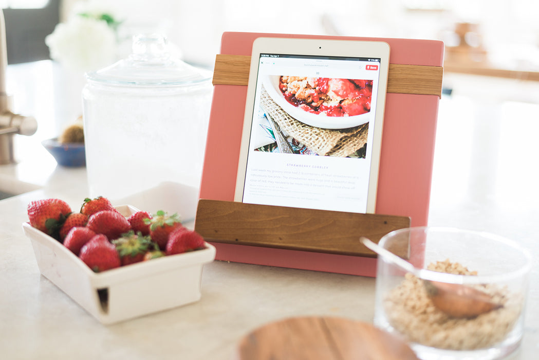 etúHOME Pink Mod iPad / Cookbook Holder - Featured in Oprah Magazine - 6