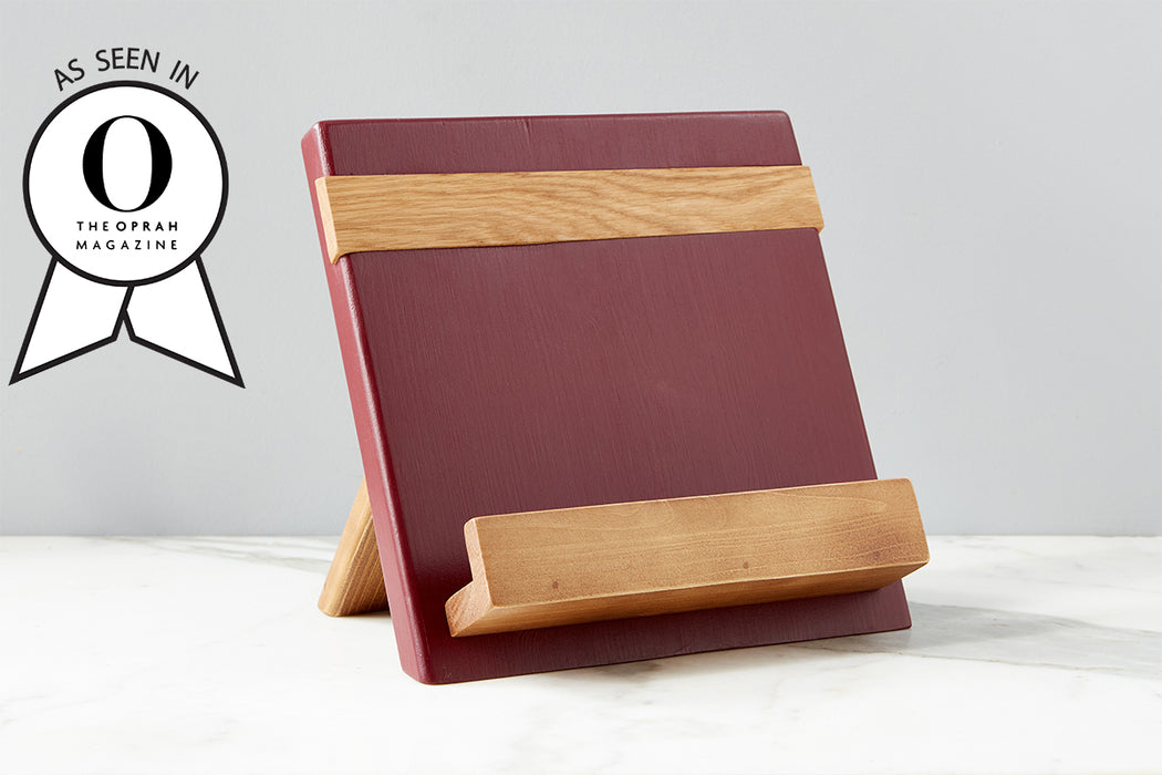 etúHOME Merlot Mod iPad / Cookbook Holder - Featured in Oprah Magazine - 1