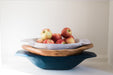 etúHOME Distressed White Dough Bowl, Small 5