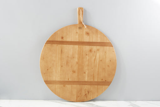 etúHOME Round Pine Charcuterie Board, Xlarge -1