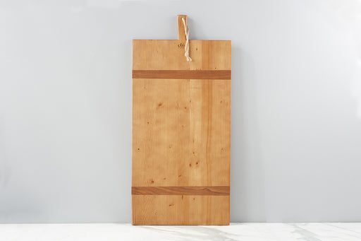 etúHOME Rectangle Pine Charcuterie Board, Large - 1