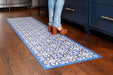 etúHOME Ivory and Denim Caltagrione Rug, XLarge -3