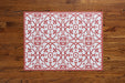 etúHOME Red Liberty Rug, Small -2