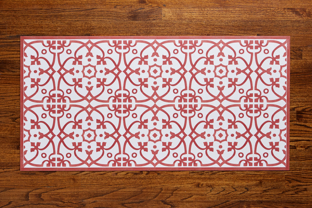 etúHOME Red Liberty Rug, Medium -2