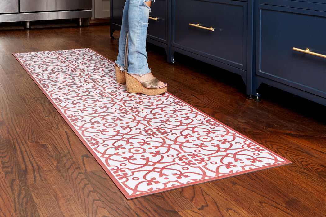 etúHOME Red Liberty Rug, Medium -4