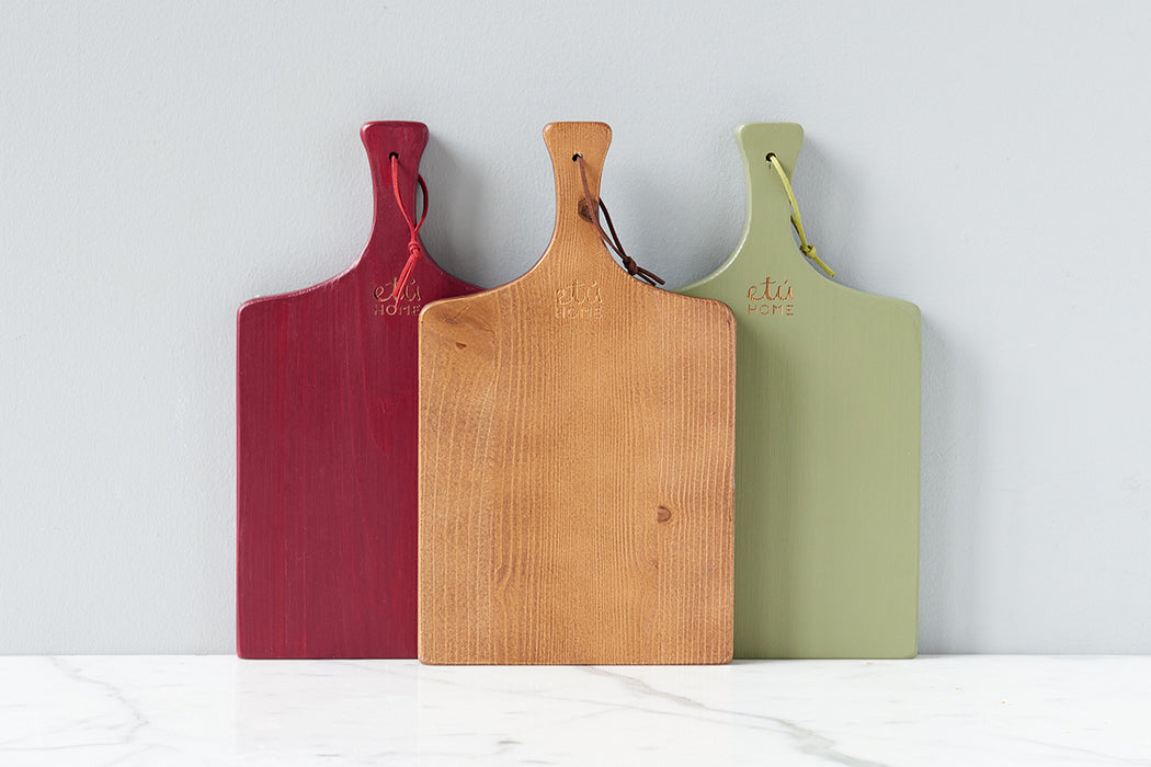 etúHOME Tuscan Mini Charcuterie Board, Set of 3 -1