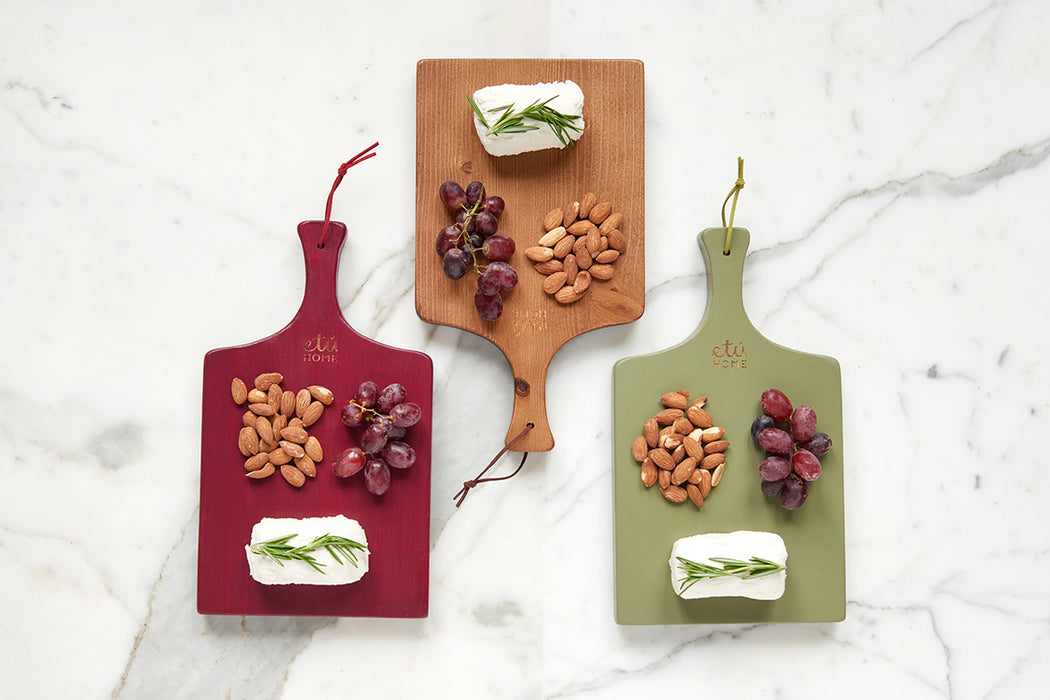 etúHOME Tuscan Mini Charcuterie Board, Set of 3 -3