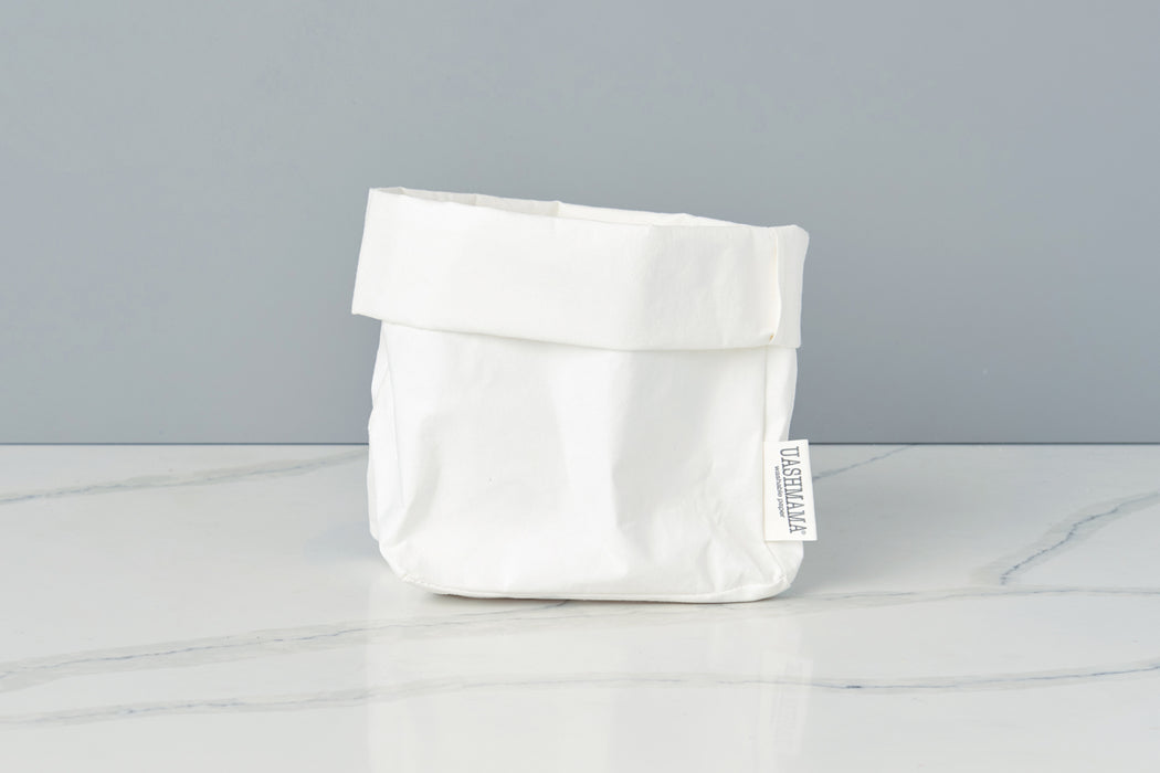 etúHOME Uashmama White Paper Bag, Medium -1