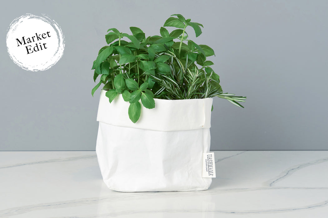etúHOME Uashmama White Paper Bag, Medium -2