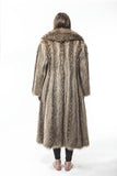 "1980's Vintage ""SO FLY"" Long Hair Raccoon Full Length Fur Coat"