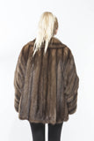 1990's Natural Russian STUNNING Sable Fur Coat Small