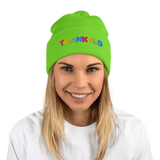 Happy Day  Pom-Pom Beanie - TRANKILO ™️