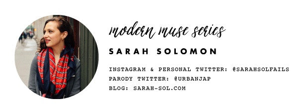 Modern Muse Series: 6 Questions with Sarah Solomon