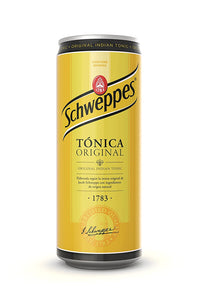 Schweppes Tonic Water 33cl Can
