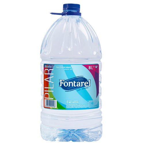 Still Natural Mineral Water Fontarel 8L