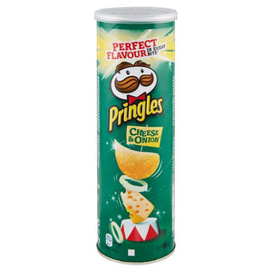 Pringles Crisps Cheese and Onion 165g