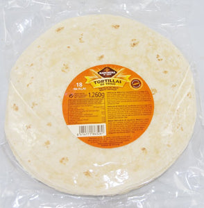 Tortilla Wraps 25cm Ranchera 18 Pack