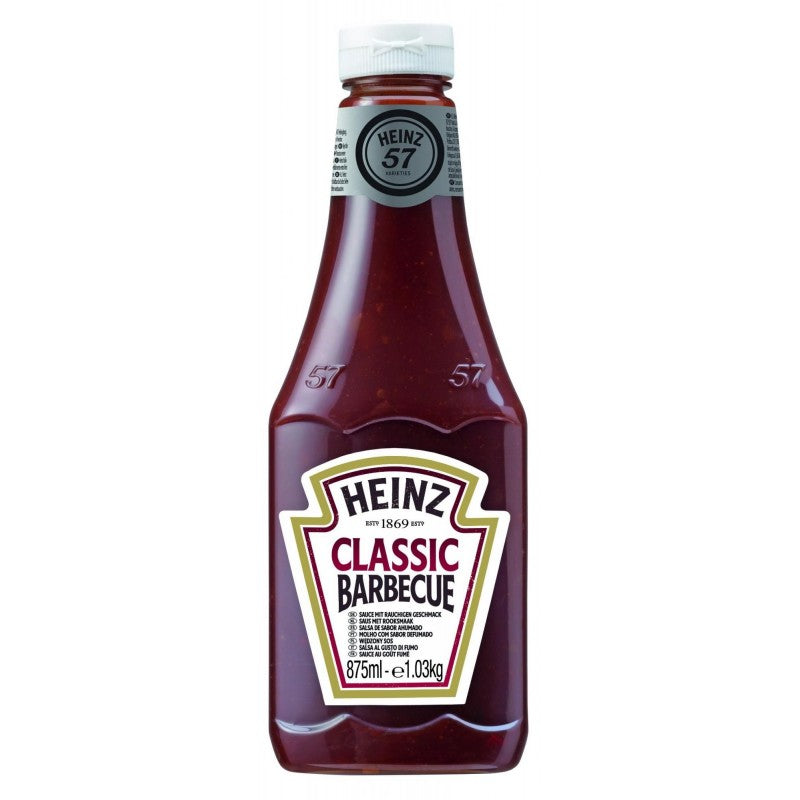 Heinz Classic Barbecue Sauce 875ml