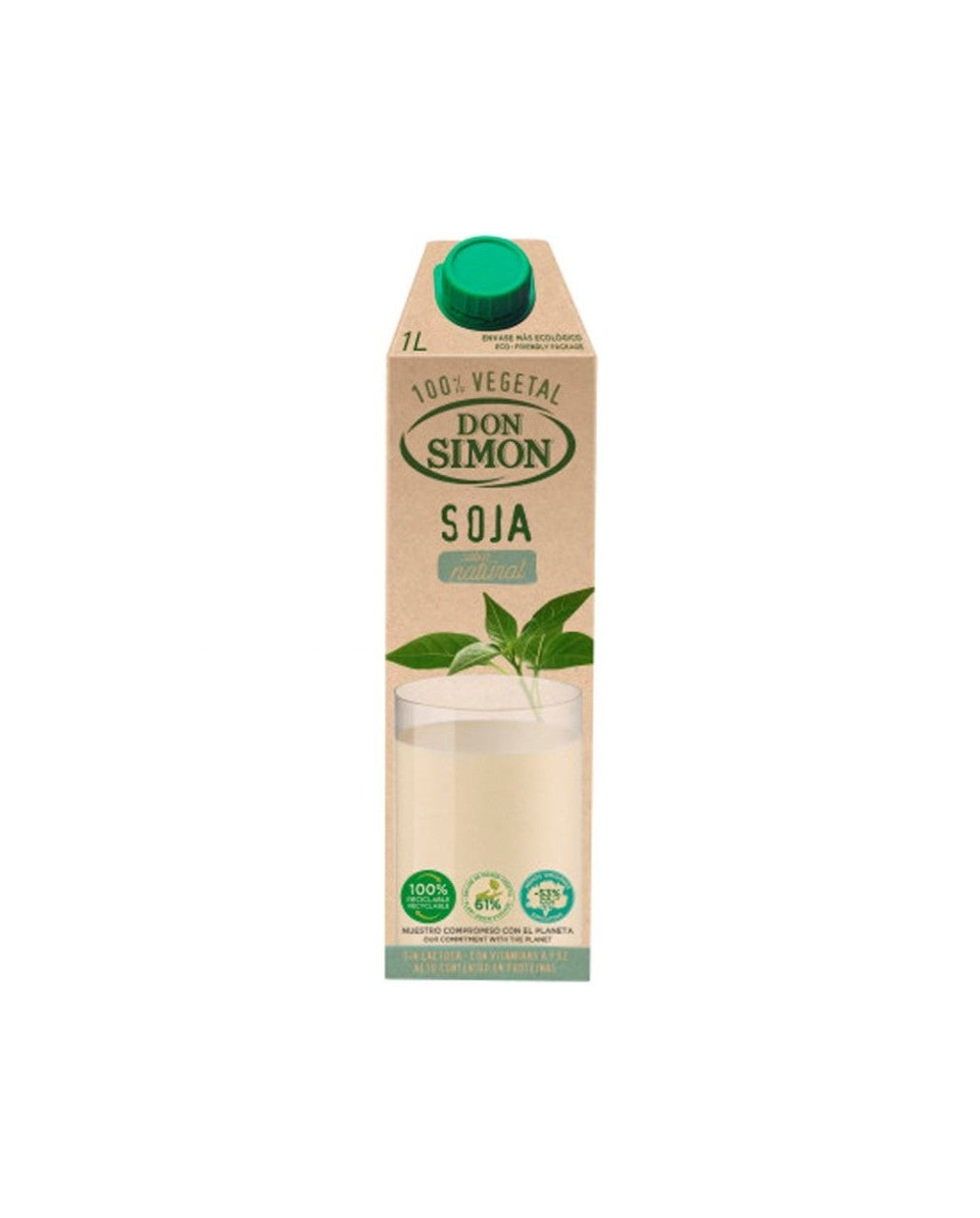 Don Simon Natural Soy Milk 1lt
