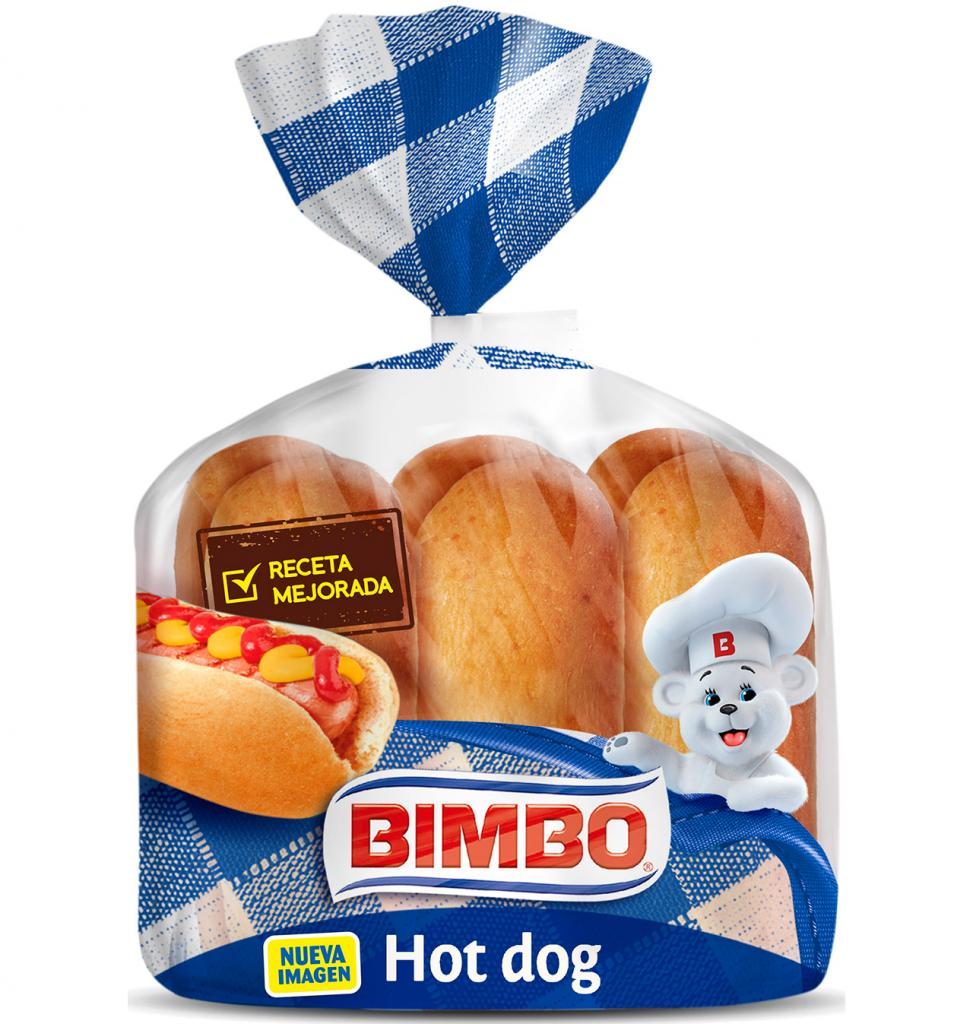 Bimbo Hot Dog 6 Pack