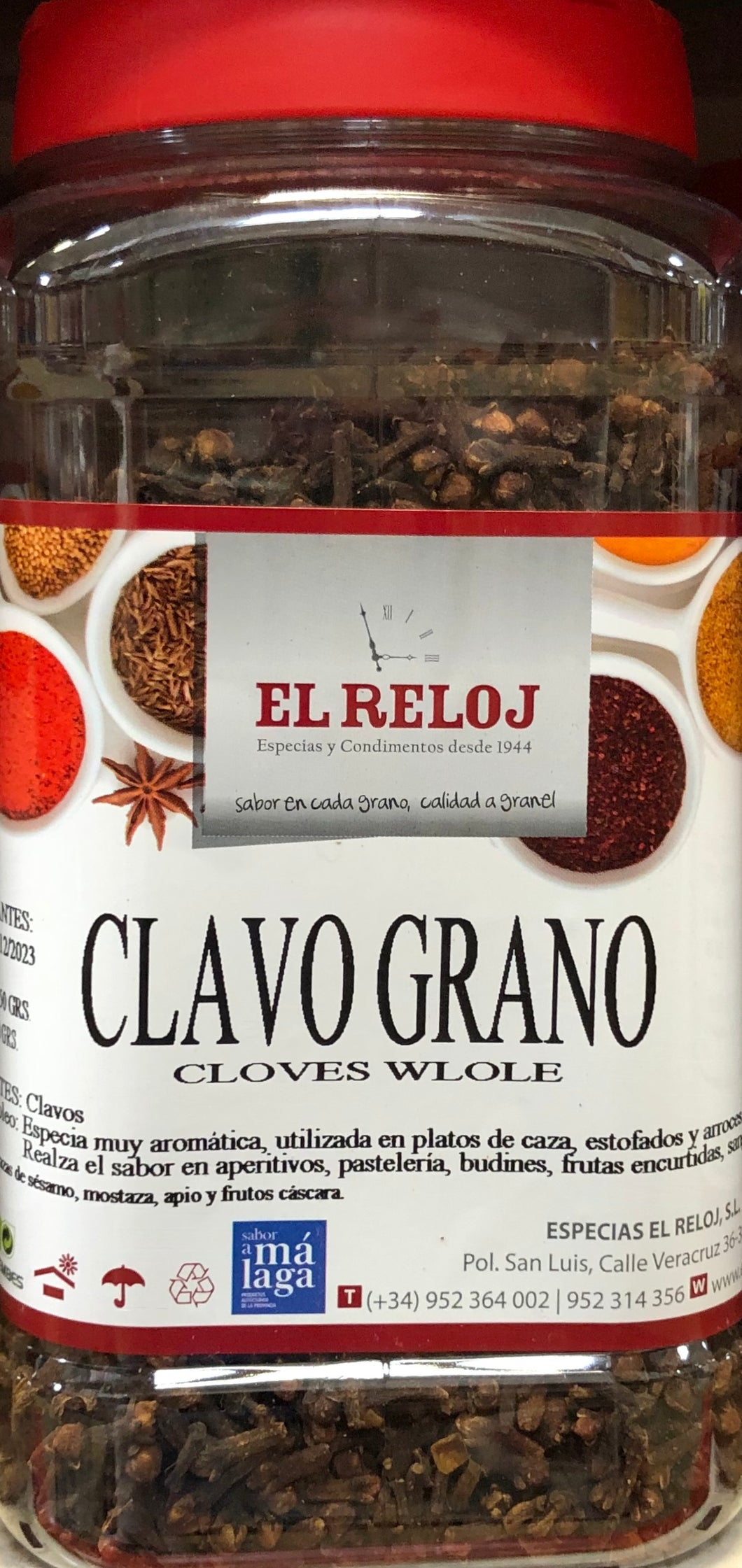 Whole Cloves 550g