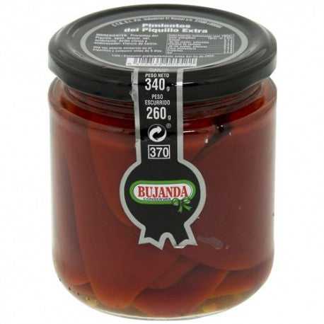 Piquillo Peppers Bujanda 340g