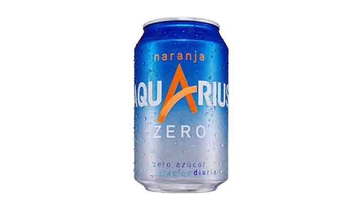 Aquarius Zero Sugar Free Orange Flavour 33cl