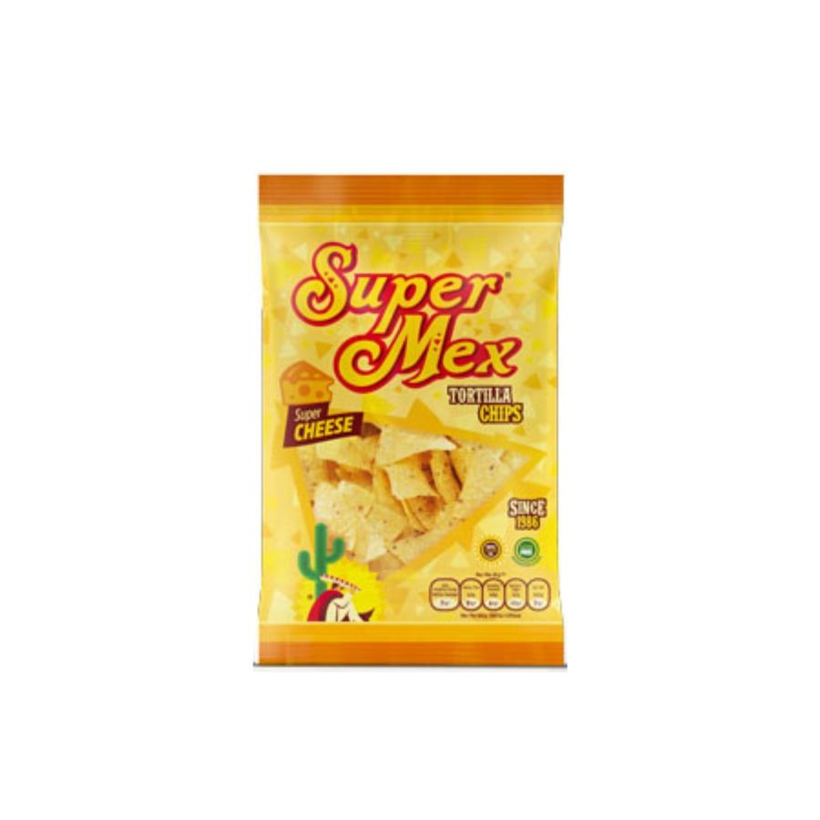 Super Mex Cheese Flavour Tortilla Chips 150g