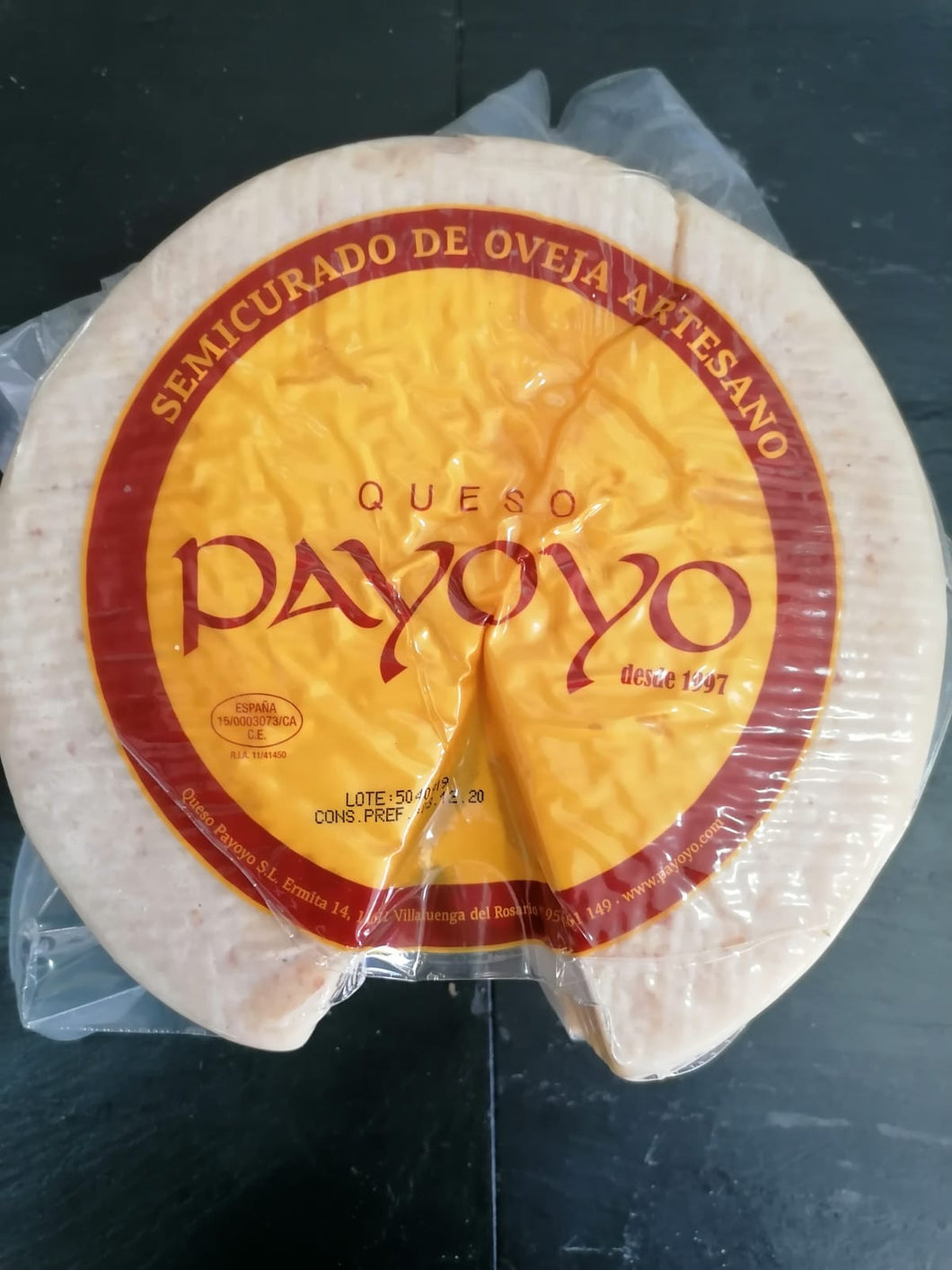 Local and Artisan Payoyo Semicured Sheeps Cheese 1kg